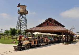 Morgan's Wonderland train