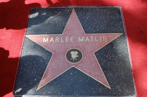Marlee Matlin's Hollywood Star