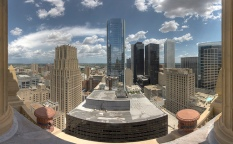 picture from a rooftop of houston