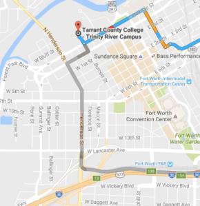 Map of Deaf Celebration location