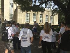 Sign Shares Houston rally