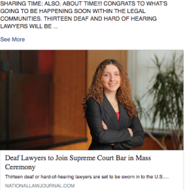 deaf lawyers swear in for the supreme court bar