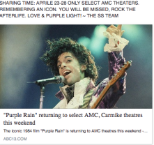 prince of purple rain died