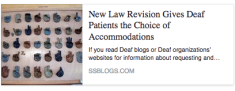 New Law Revisons Gives Patients the Choice of Accommodations.ssblogs.com
