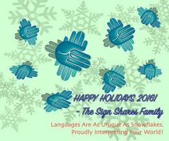Happy Holidays 2016-The Sign Shares Family.